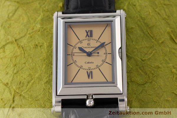 Used luxury watch Chronoswiss Cabrio steel automatic Kal. ETA 2671 Ref. CH2673  | 141710 15