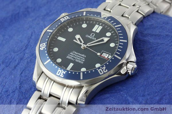 Used luxury watch Omega Seamaster steel automatic Kal. 1120 Ref. 25318000  | 141711 01