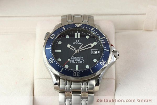 Used luxury watch Omega Seamaster steel automatic Kal. 1120 Ref. 25318000  | 141711 07