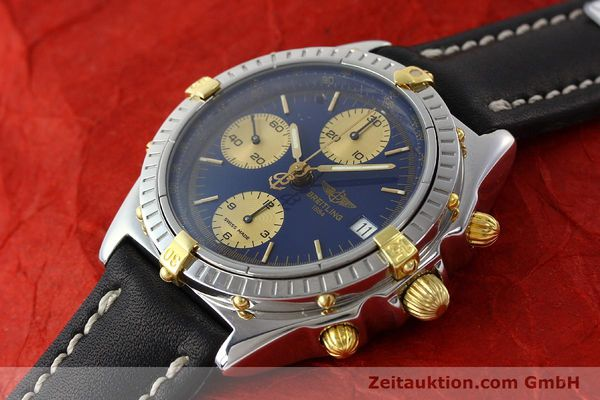 Used luxury watch Breitling Chronomat chronograph steel / gold automatic Kal. B13 Ref. B13048  | 141713 01