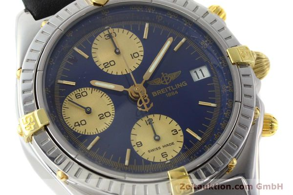 Used luxury watch Breitling Chronomat chronograph steel / gold automatic Kal. B13 Ref. B13048  | 141713 02