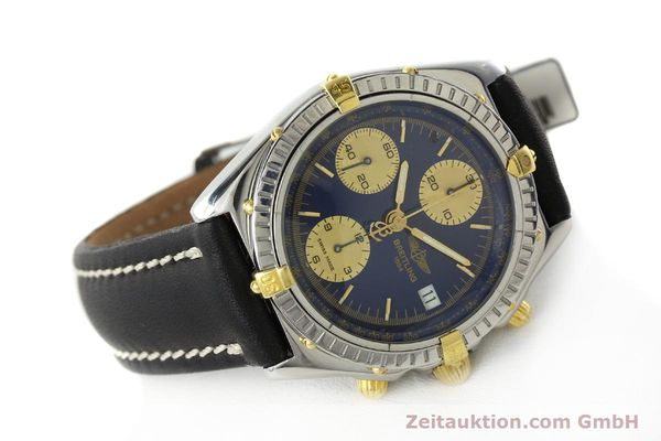 Used luxury watch Breitling Chronomat chronograph steel / gold automatic Kal. B13 Ref. B13048  | 141713 03