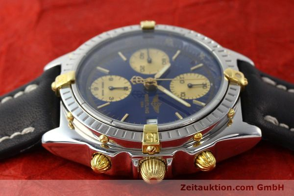 Used luxury watch Breitling Chronomat chronograph steel / gold automatic Kal. B13 Ref. B13048  | 141713 05