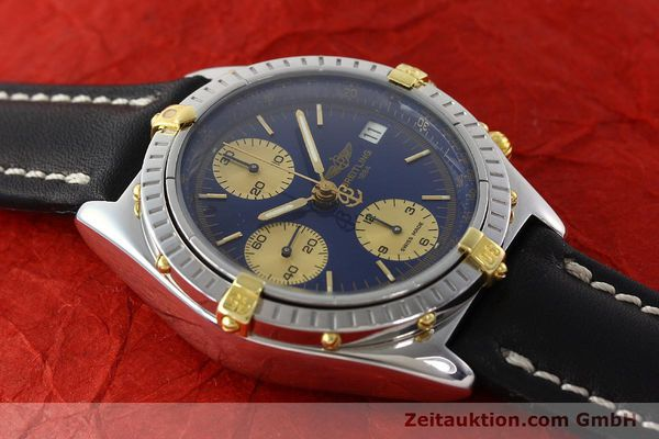 Used luxury watch Breitling Chronomat chronograph steel / gold automatic Kal. B13 Ref. B13048  | 141713 12