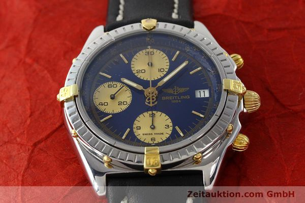 Used luxury watch Breitling Chronomat chronograph steel / gold automatic Kal. B13 Ref. B13048  | 141713 13