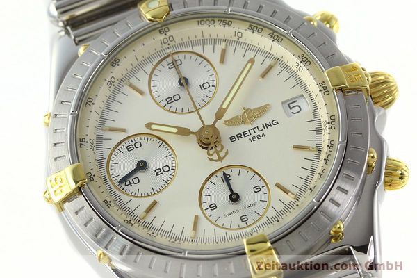 Used luxury watch Breitling Chronomat chronograph steel / gold automatic Kal. B13 ETA 7750 Ref. B13050  | 141714 02