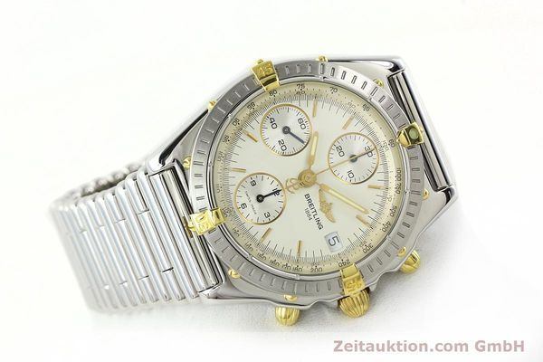 Used luxury watch Breitling Chronomat chronograph steel / gold automatic Kal. B13 ETA 7750 Ref. B13050  | 141714 03