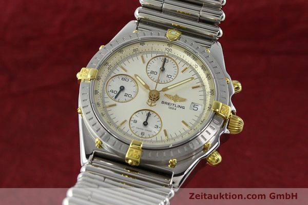 Used luxury watch Breitling Chronomat chronograph steel / gold automatic Kal. B13 ETA 7750 Ref. B13050  | 141714 04