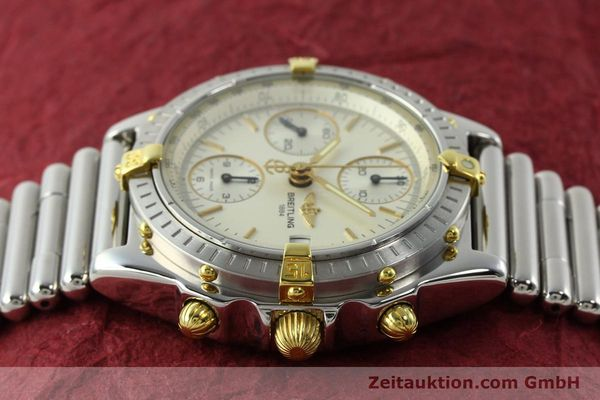 Used luxury watch Breitling Chronomat chronograph steel / gold automatic Kal. B13 ETA 7750 Ref. B13050  | 141714 05