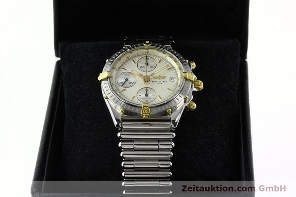 Used luxury watch Breitling Chronomat chronograph steel / gold automatic Kal. B13 ETA 7750 Ref. B13050  | 141714 07