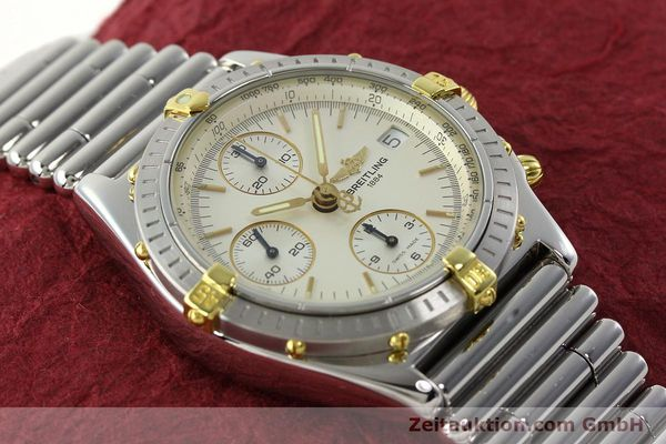 Used luxury watch Breitling Chronomat chronograph steel / gold automatic Kal. B13 ETA 7750 Ref. B13050  | 141714 13
