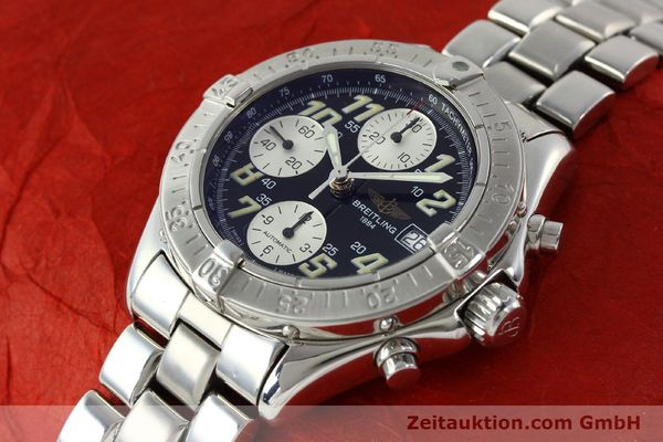 Used luxury watch Breitling Colt steel automatic Kal. B13 ETA 7750 Ref. A13035.1  | 141716 01