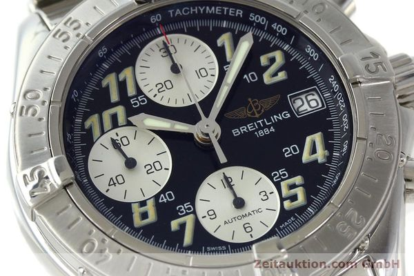 Used luxury watch Breitling Colt steel automatic Kal. B13 ETA 7750 Ref. A13035.1  | 141716 02
