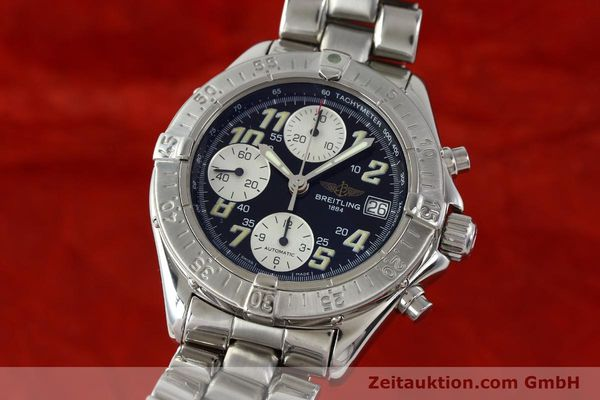 Used luxury watch Breitling Colt steel automatic Kal. B13 ETA 7750 Ref. A13035.1  | 141716 04