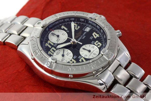 Used luxury watch Breitling Colt steel automatic Kal. B13 ETA 7750 Ref. A13035.1  | 141716 15