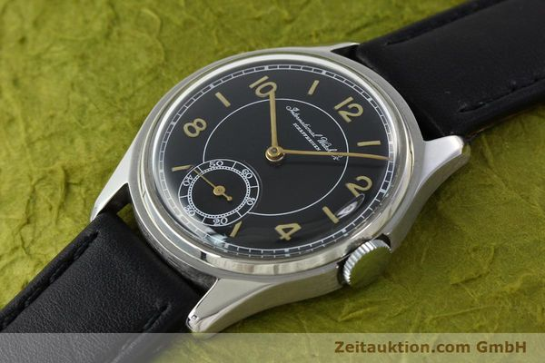 Used luxury watch IWC * steel manual winding Kal. C.83  | 141717 01