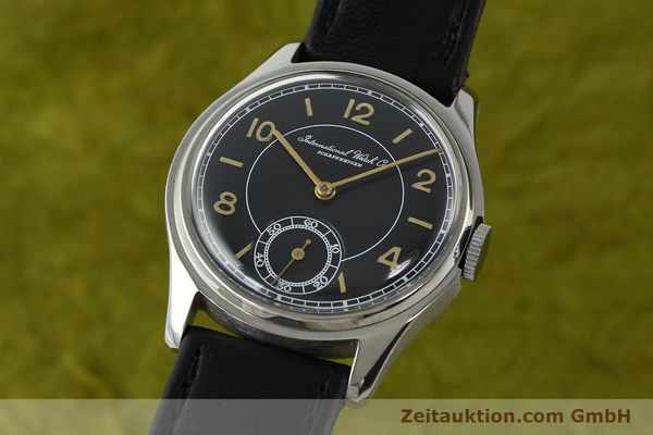 Used luxury watch IWC * steel manual winding Kal. C.83  | 141717 04