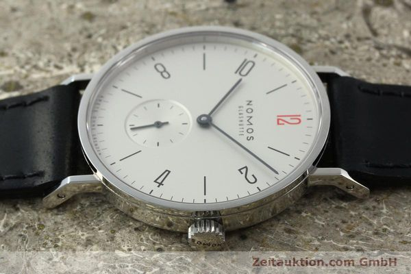 Used luxury watch Nomos Tangente steel manual winding Kal. Alpha 92915  | 141718 05