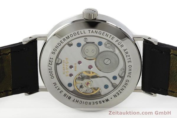 Used luxury watch Nomos Tangente steel manual winding Kal. Alpha 92915  | 141718 09