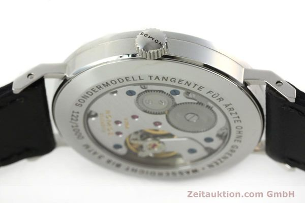 Used luxury watch Nomos Tangente steel manual winding Kal. Alpha 92915  | 141718 11