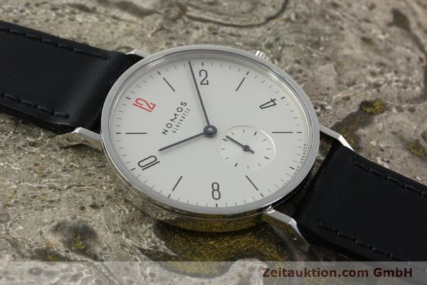 Used luxury watch Nomos Tangente steel manual winding Kal. Alpha 92915  | 141718 14