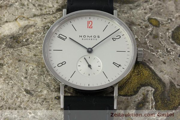 Used luxury watch Nomos Tangente steel manual winding Kal. Alpha 92915  | 141718 15