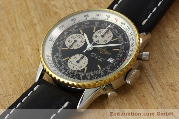 Used luxury watch Breitling Navitimer gilt steel automatic Kal. B13 ETA 7750 Ref. 81611B13019  | 141721 01