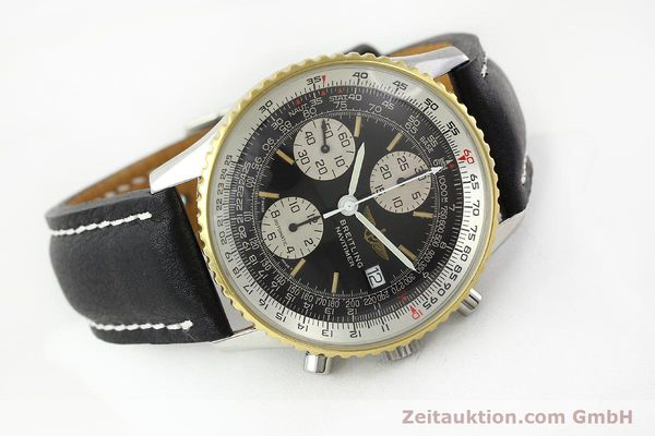 Used luxury watch Breitling Navitimer gilt steel automatic Kal. B13 ETA 7750 Ref. 81611B13019  | 141721 03