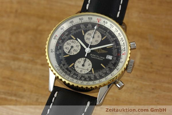 Used luxury watch Breitling Navitimer gilt steel automatic Kal. B13 ETA 7750 Ref. 81611B13019  | 141721 04