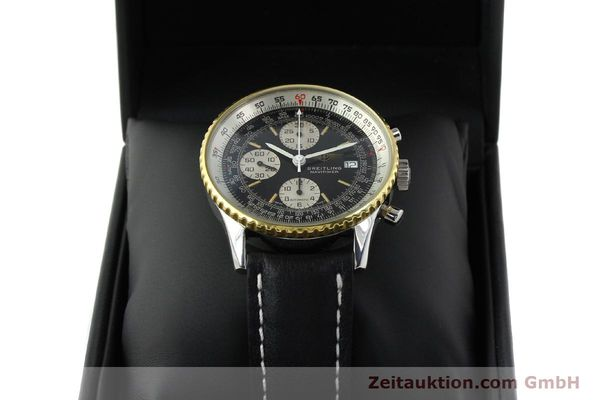 Used luxury watch Breitling Navitimer gilt steel automatic Kal. B13 ETA 7750 Ref. 81611B13019  | 141721 07