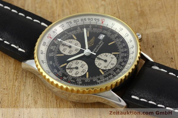 Used luxury watch Breitling Navitimer gilt steel automatic Kal. B13 ETA 7750 Ref. 81611B13019  | 141721 12