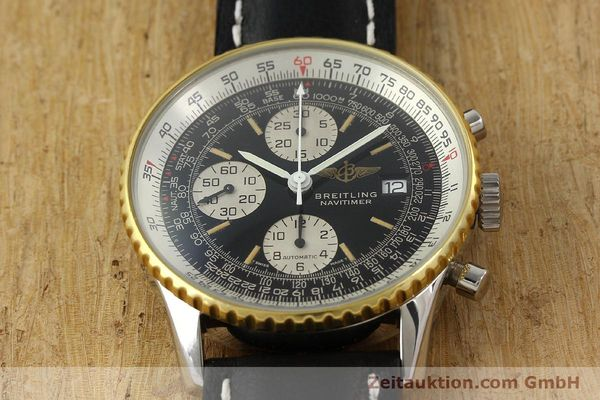 Used luxury watch Breitling Navitimer gilt steel automatic Kal. B13 ETA 7750 Ref. 81611B13019  | 141721 13