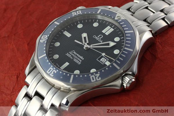 Used luxury watch Omega Seamaster steel quartz Kal. 1538  | 141722 01