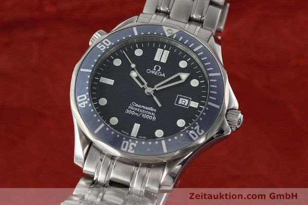 Used luxury watch Omega Seamaster steel quartz Kal. 1538  | 141722 04