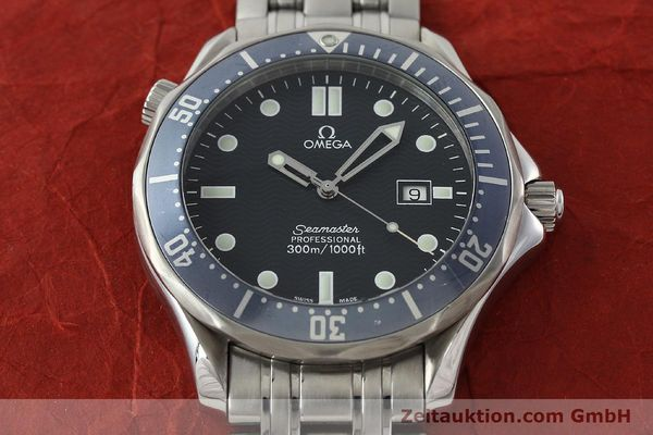 Used luxury watch Omega Seamaster steel quartz Kal. 1538  | 141722 15