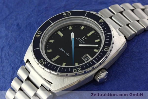 Used luxury watch Omega Seamaster steel automatic Kal. 1011 Ref. 166.088  | 141723 01