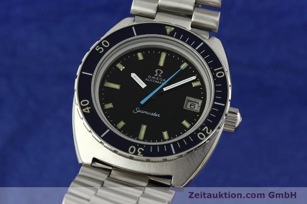Used luxury watch Omega Seamaster steel automatic Kal. 1011 Ref. 166.088  | 141723 04