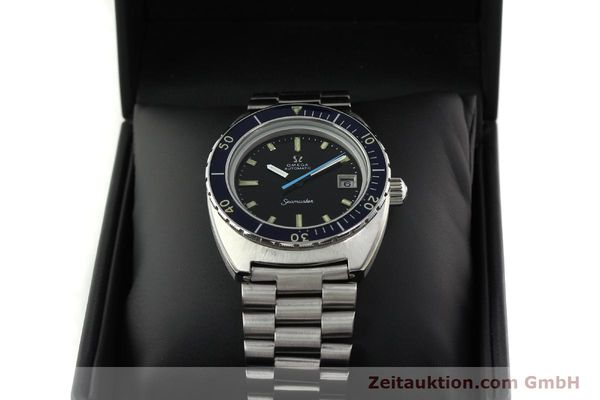Used luxury watch Omega Seamaster steel automatic Kal. 1011 Ref. 166.088  | 141723 07