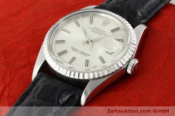 Used luxury watch Rolex Datejust steel automatic Kal. 1570 Ref. 1603  | 141725 01