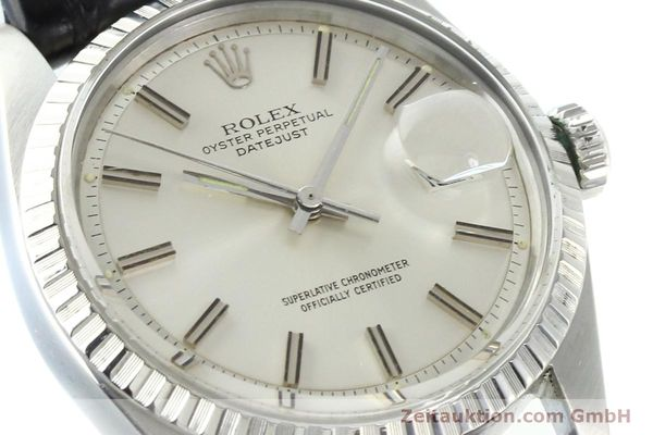 Used luxury watch Rolex Datejust steel automatic Kal. 1570 Ref. 1603  | 141725 02