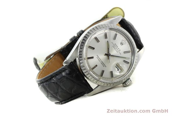 Used luxury watch Rolex Datejust steel automatic Kal. 1570 Ref. 1603  | 141725 03