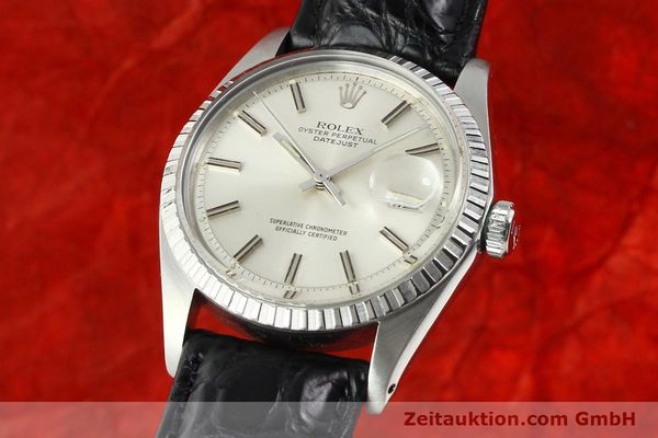 Used luxury watch Rolex Datejust steel automatic Kal. 1570 Ref. 1603  | 141725 04