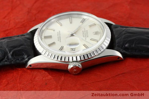 Used luxury watch Rolex Datejust steel automatic Kal. 1570 Ref. 1603  | 141725 05