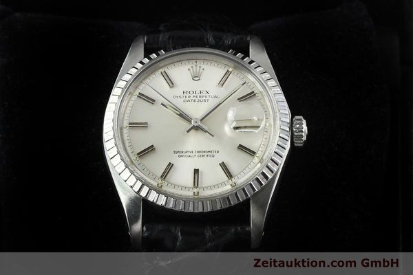 Used luxury watch Rolex Datejust steel automatic Kal. 1570 Ref. 1603  | 141725 07