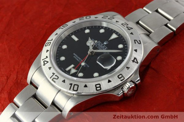 Used luxury watch Rolex Explorer II steel automatic Kal. 3185 Ref. 16570  | 141726 01