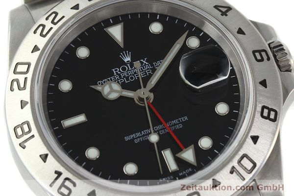 Used luxury watch Rolex Explorer II steel automatic Kal. 3185 Ref. 16570  | 141726 02