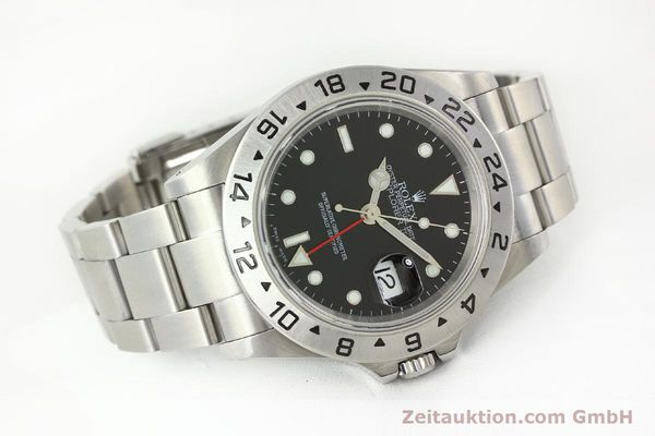 Used luxury watch Rolex Explorer II steel automatic Kal. 3185 Ref. 16570  | 141726 03