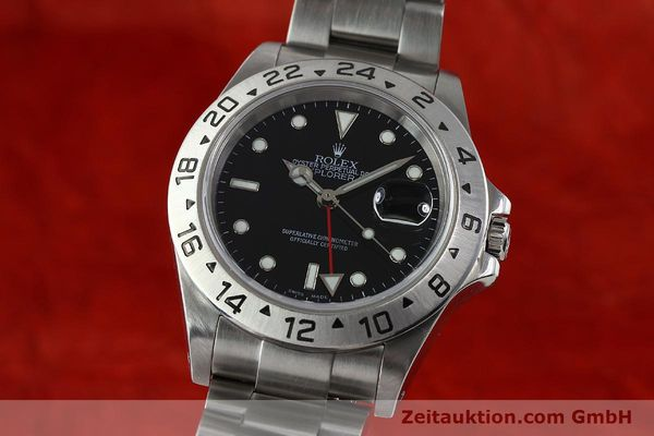 Used luxury watch Rolex Explorer II steel automatic Kal. 3185 Ref. 16570  | 141726 04