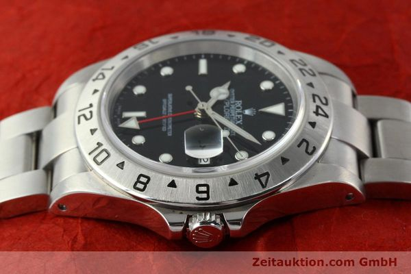 Used luxury watch Rolex Explorer II steel automatic Kal. 3185 Ref. 16570  | 141726 05