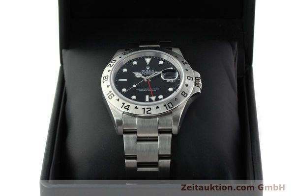 Used luxury watch Rolex Explorer II steel automatic Kal. 3185 Ref. 16570  | 141726 07